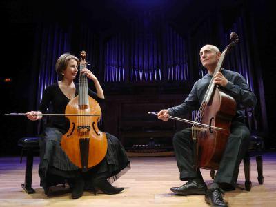 Amélie Chemin y Paolo Pandolfo. Concierto Violas en diálogo - Origen y esplendor de la viola da gamba