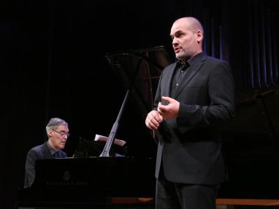 Roger Vignoles y Florian Boesch. Concierto Neoclasicismo - Los antimodernos