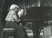 Ana Bogani y Fernando Puchol. Concierto Piano a cuatro manos (1985) , 1985