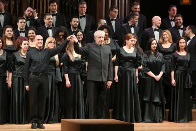 Coro Intermezzo del Teatro Real, Andrés Máspero y Miguel Ángel Arqued. Concierto Coros de ópera - A coro