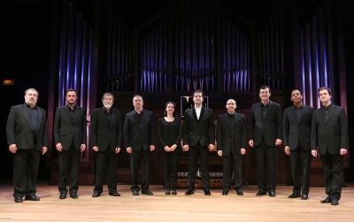 Ensemble del Coro Nacional de España y Héctor Guerrero. Concierto Polifonía española para la Semana Santa - A coro