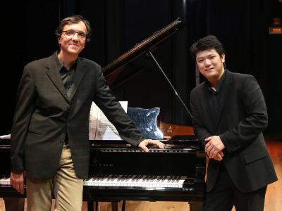 Eric Le Sage y Daiskin Kashimoto. Concierto Preimpresionistas