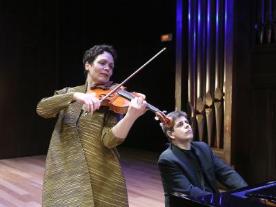 Javier Perianes y Tabea Zimmermann. Concierto Parodias de óperas - Zarzuela cómica