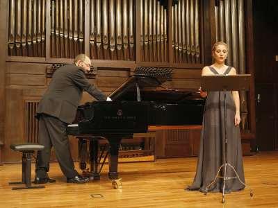 Carmen Gurriarán y Kennedy Moretti. Concierto Después de Stalin: música en la URSS, 1960-1990