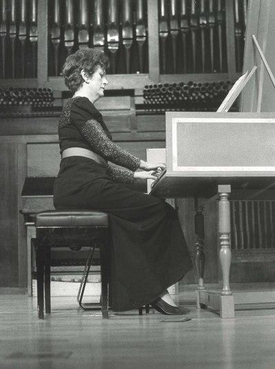 Genoveva Gálvez. Concierto Haendel (1985)