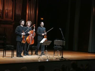 Garnati Ensemble, Pablo Martos, Alberto Martos y Yuval Gotlibovich. Concierto Recital de música de cámara