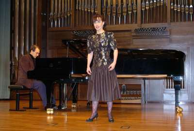 Mª Dolores Campos y Carlos Gallardo. Concierto Recital de canto y piano