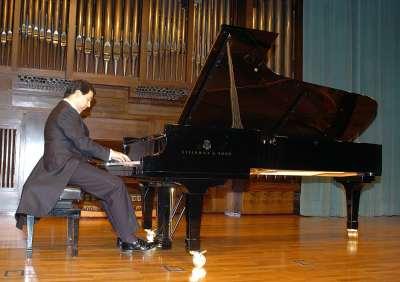 Sergio Espejo. Concierto Recital de piano