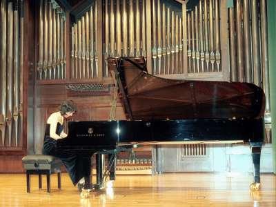 Penélope Aboli. Concierto Recital de piano