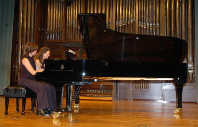 Susana Maté y Covadonga Serrano. Concierto Recital de dúo de piano