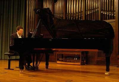 José Manuel Hernández Blanco. Concierto Recital de piano