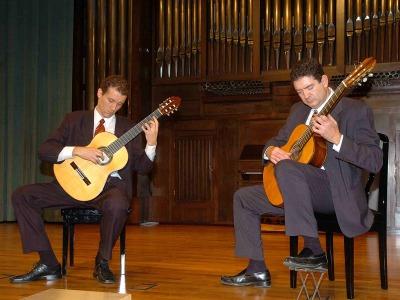 Vicent Ballester y Miguel Pérez Perelló. Concierto Recital de dúo de guitarras