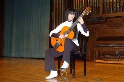 Roxana Mori. Concierto Recital de guitarra
