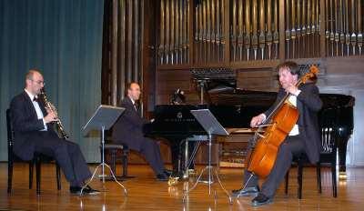 Joan Borrás, Juan José Albinyana, Trío B3 Classic y David V. Johnstone. Concierto Recital de música de cámara