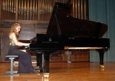 Patricia Ruiz García. Concierto Recital de piano