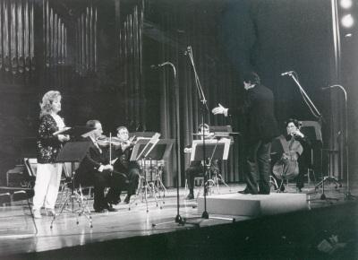Grupo Koan y Pura María Martínez. Concierto Tribuna de jóvenes compositores