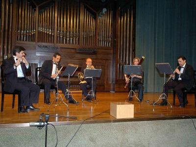 Quinteto Forum. Concierto Recital de música de cámara
