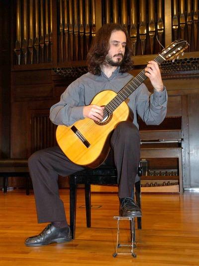 Jorge Nieto Ortiz. Concierto Recital de guitarra