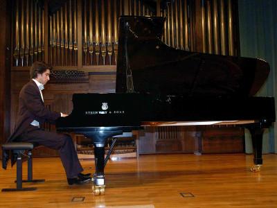 Pablo Amorós. Concierto Recital de piano