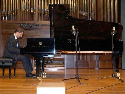 José Luis Castillo. Concierto Recital de piano
