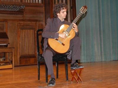 Carlos Ramos. Concierto Recital de guitarra
