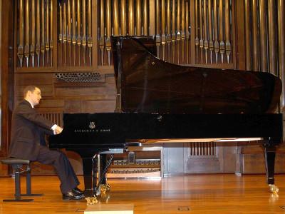 Jorge Pico Álvarez. Concierto Recital de piano