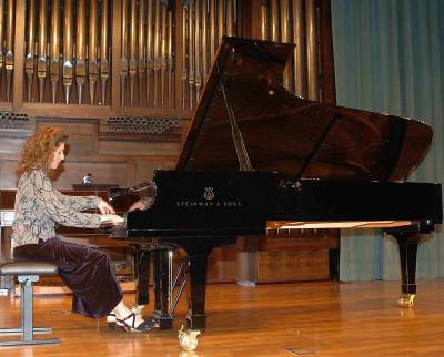 Inés Borrás. Concierto Recital de piano