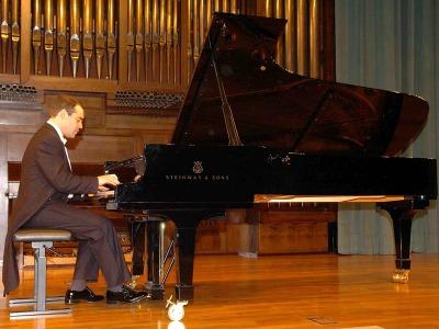Juan Lago. Concierto Recital de piano
