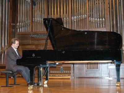 Juan Carlos Rodríguez Martínez. Concierto Recital de piano