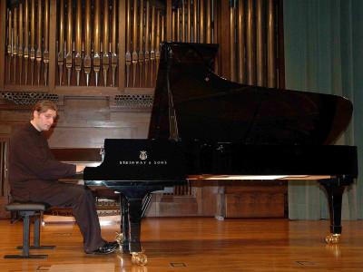 Philippe Raskin. Concierto Recital de piano