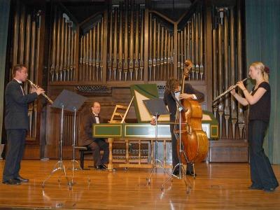 Grupo Barroco (Escuela Superior de Música Reina Sofía). Concierto Recital de Música de Cámara