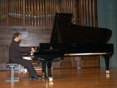 Rubén Lorenzo. Concierto Recital de piano