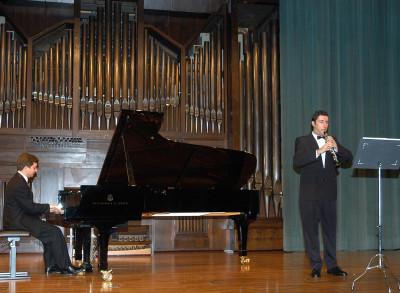 Francisco Estellés Lloret y José Vicente León. Concierto Recital de oboe y piano