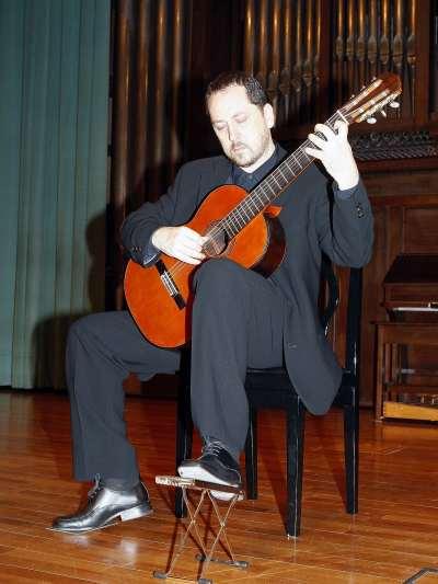 Marcos Díaz. Concierto Recital de guitarra