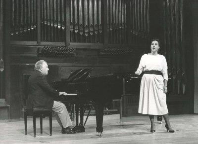 Paloma Pérez Íñigo y Miguel Zanetti. Recitales para Jóvenes