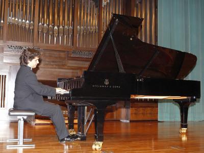 Pedro Casals. Concierto Recital de piano