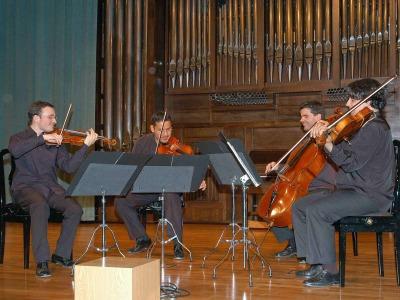 Cuarteto Pandora. Concierto Recital de música de cámara
