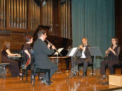 Iberian Ensemble y Asya Nebolsina. Concierto Recital de quinteto de viento y piano