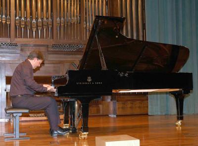 Janmaarten van der Mark. Concierto Recital de piano