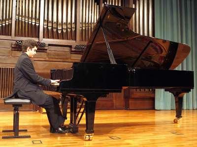 Marcelo Balat. Concierto Recital de piano
