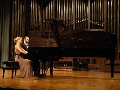Fernando Salinero y Mario Alonso. Concierto Recital de piano a 4 manos