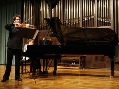 Jaime Gorgojo y Raquel Gorgojo. Concierto Recital de violín y piano