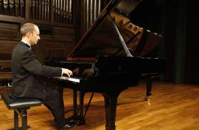 José Luis Bernaldo de Quiros. Concierto Recital de piano