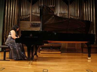 Raquel del Val. Concierto Recital de piano