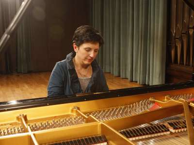 Mercedes Ildefonso Abad. Concierto Recital de piano