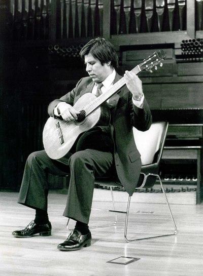 Javier Calderón. Recital de guitarra
