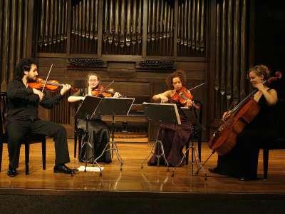 Cuarteto Ars, Federico Nathan, Nora Stankowsky, Mirelys Morgan y Natalia Díaz. Concierto Recital de música de cámara