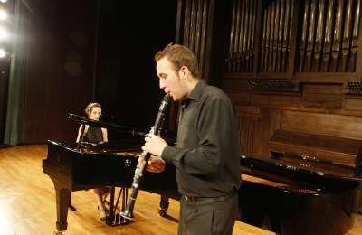 Dúo Göttendämmerung, David Mora Mora y Raquel Sabarís. Concierto Recital de clarinete y piano