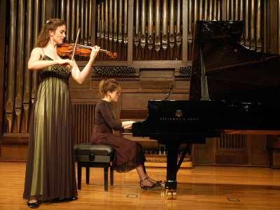 Frederieke Saeijs y Raquel Gorgojo. Concierto Roma 1700. Los nuevos géneros de la ciudad eterna - El sonido de las ciudades