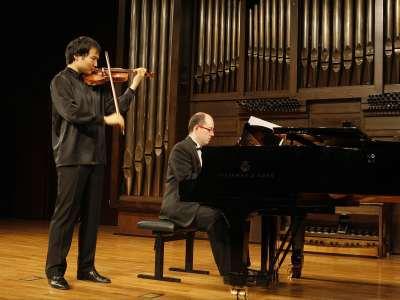 Erzhan Kulibaev y Vadim Gladkov. Concierto El legado de Cabezón: el tiento ibérico para órgano